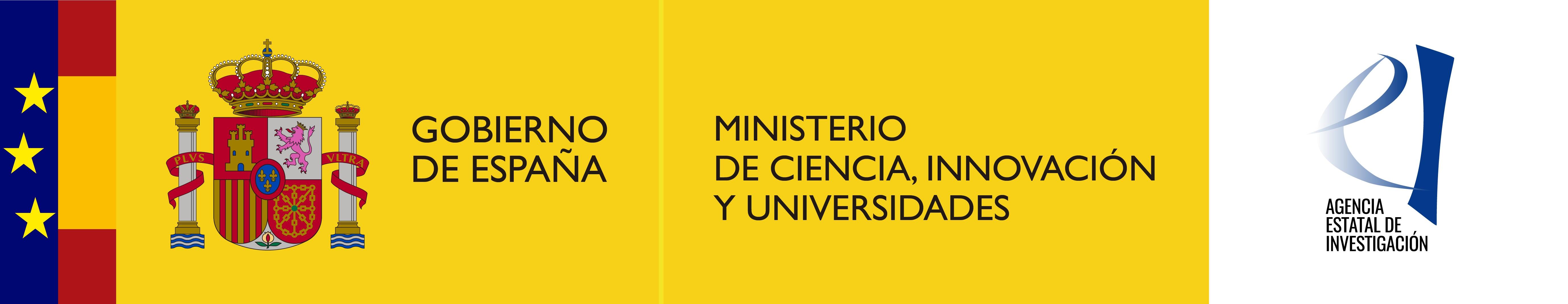 ministerio de ciencia, innovacion y universidades logo