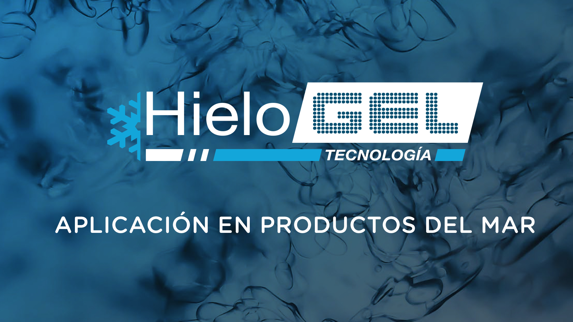 Aplicación en produtos del mar